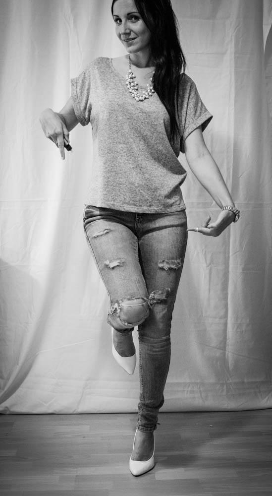 DIY Distress your jeans : Soll ich's wirklich machen oder...