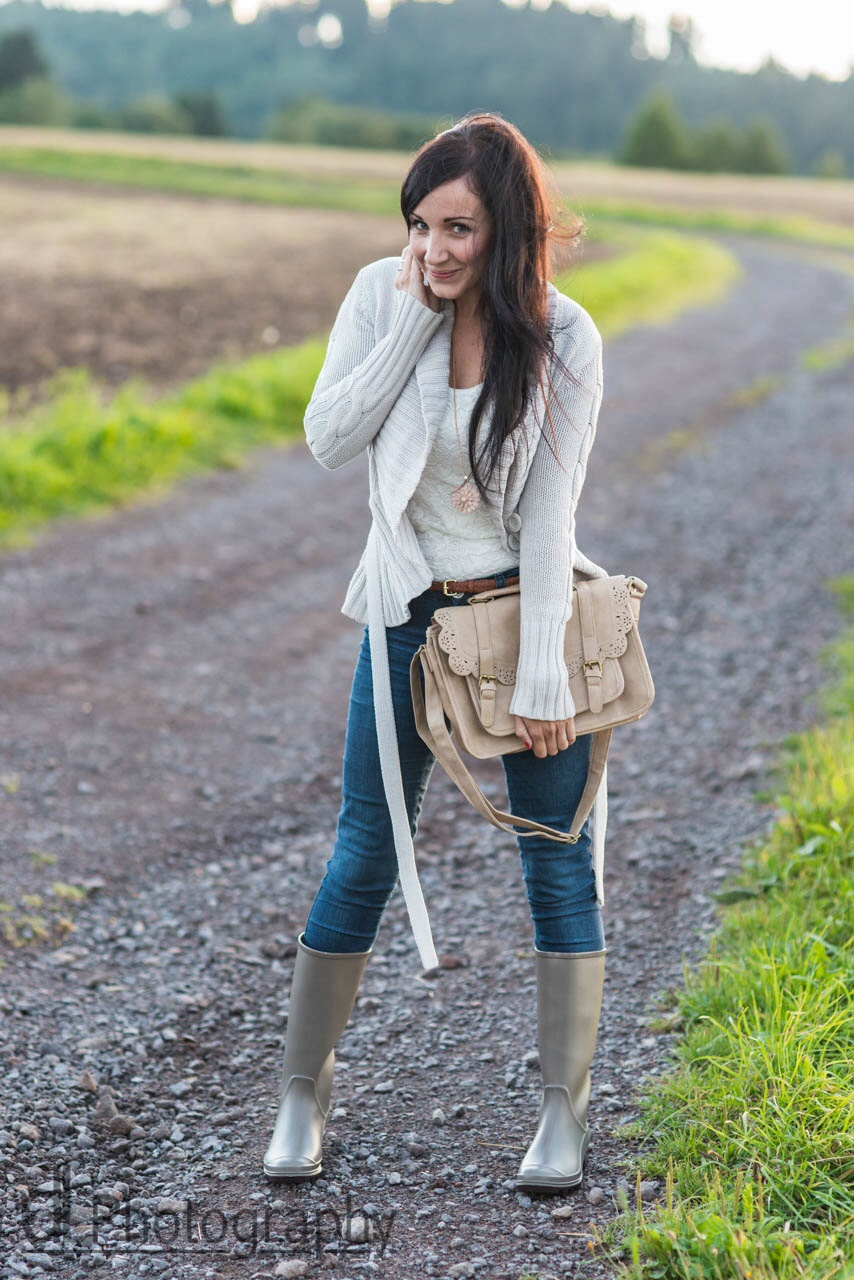 Rain Boots Fashion Blog
