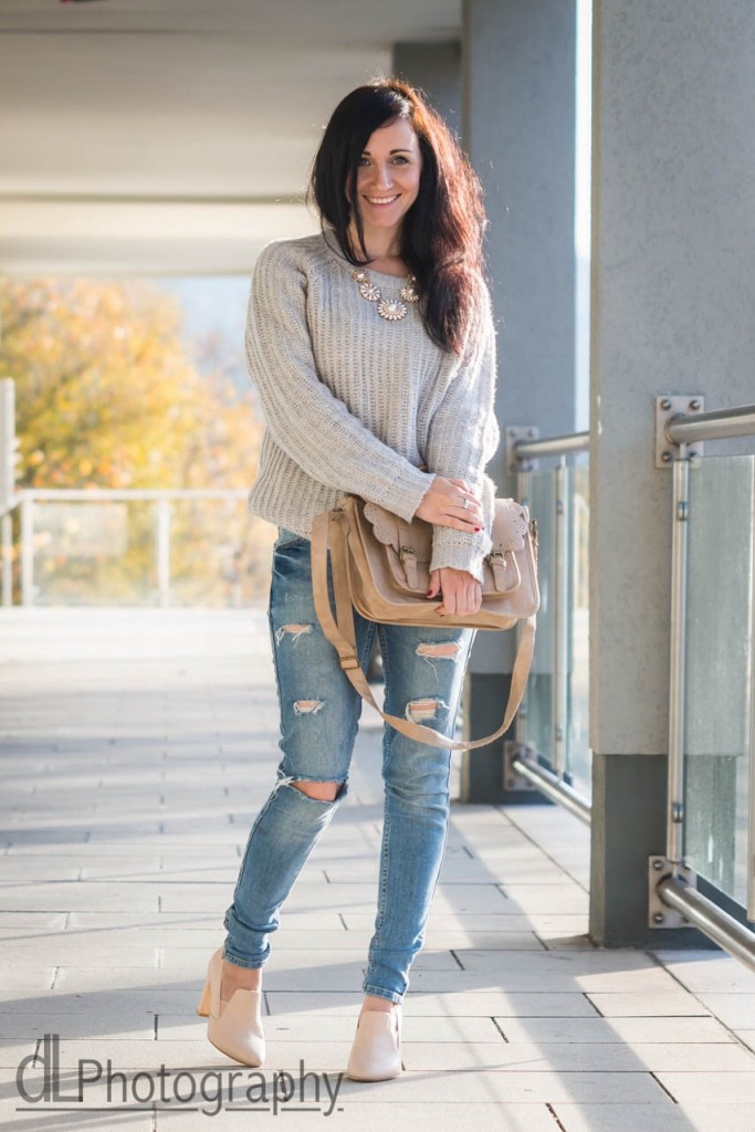 Dresscode of the day : cozy knit and jeans