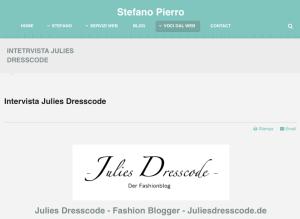 Intervista Julies Dresscode