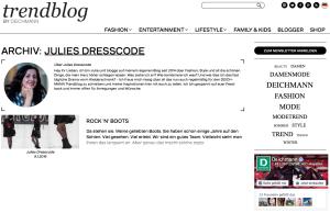 Trendblag Deichmann Julies Dresscode