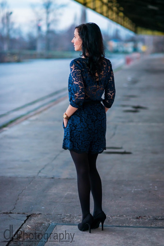 I got a crush on you : the blue lace jumpsuit