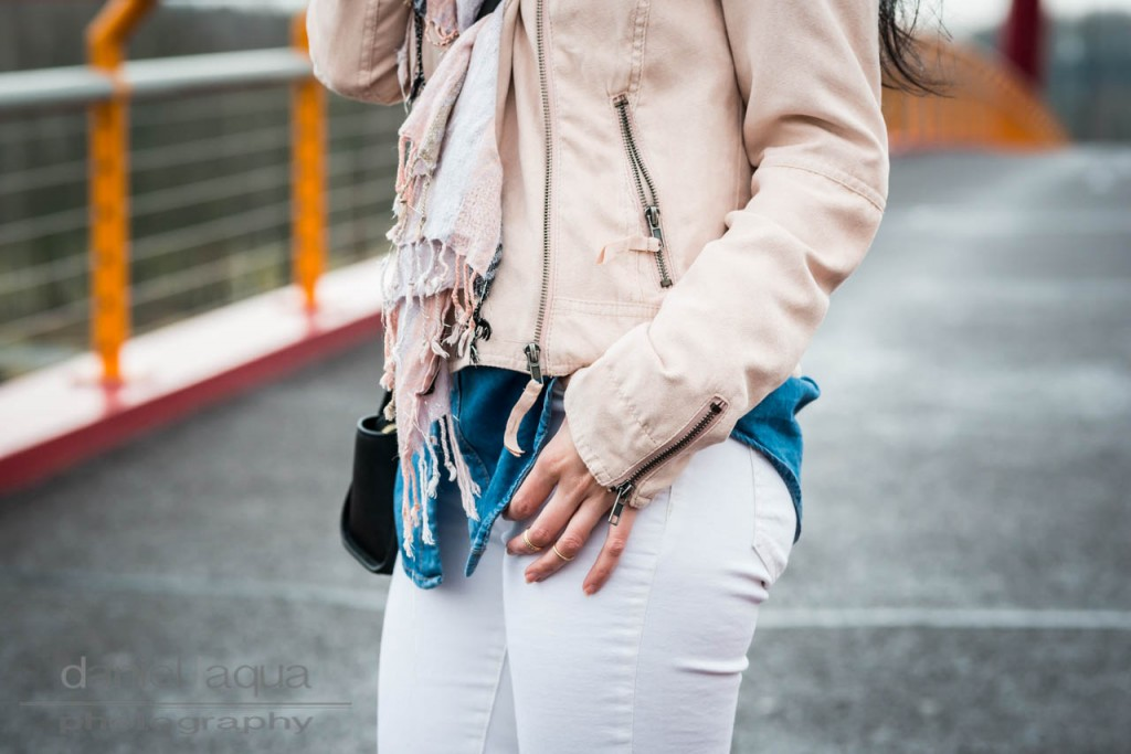 Love you like popcorn : casual white, pastell and denim