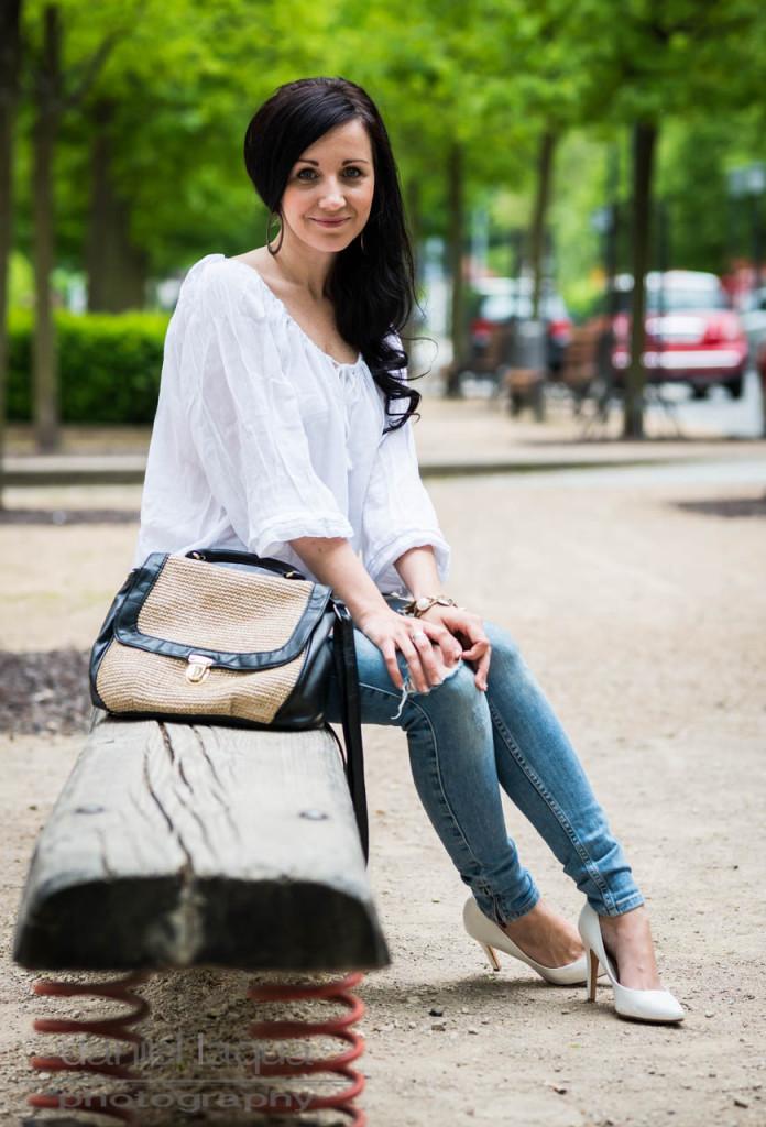 Vom Suchen und Finden : Boho Bluse und distressed Jeans