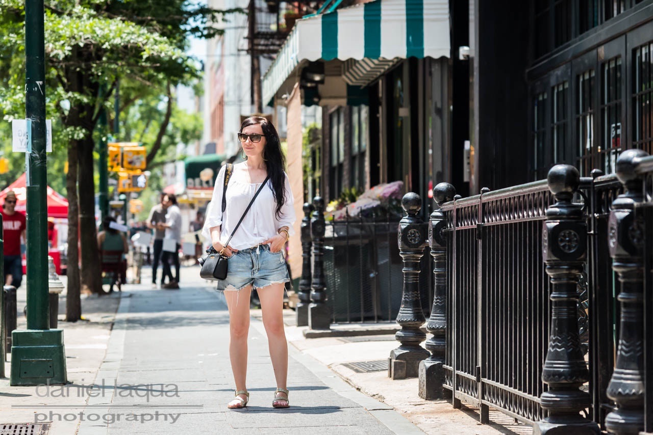Back in New York : lost my heart in denim shorts - Julies Dresscode