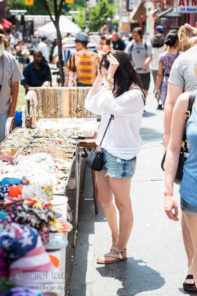 Back in New York : lost my heart in denim shorts