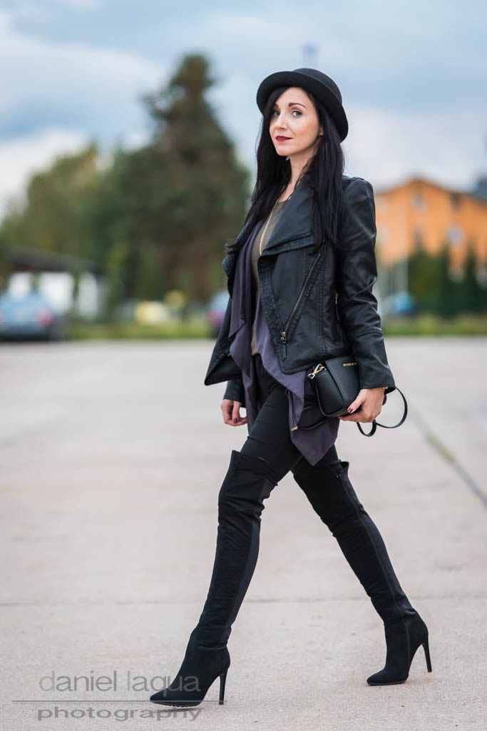 Layering and overknees : must haves im Herbst