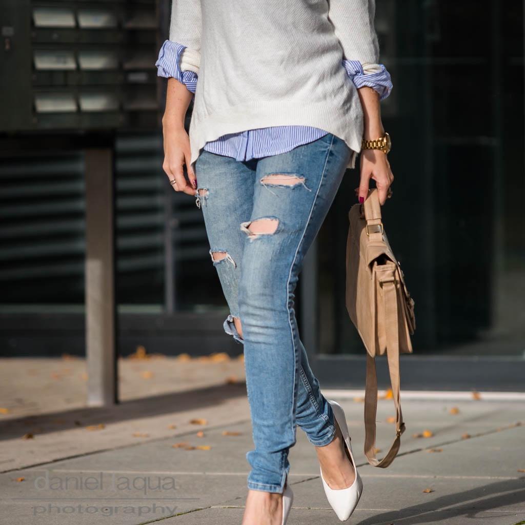 Kaputte Hosen : Distressed Jeans, Pearls and Pumps - Julies Dresscode