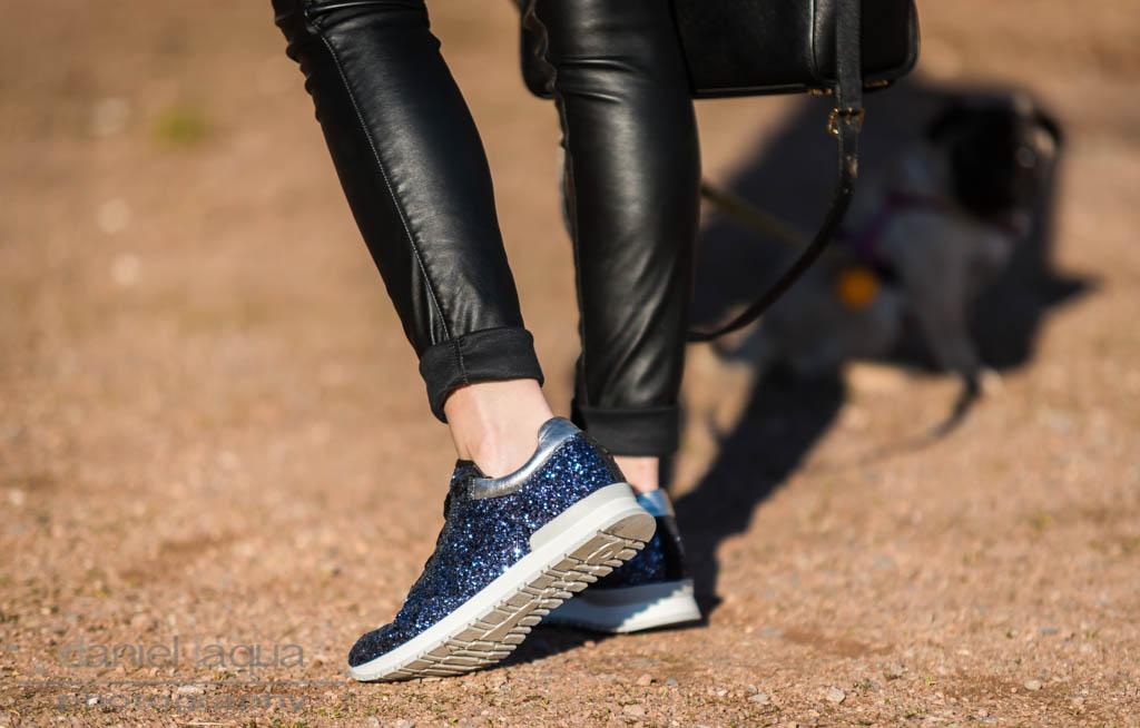 Found the perfect ones : glitzernde Sneaker zum Jahreswechsel - Julies Dresscode