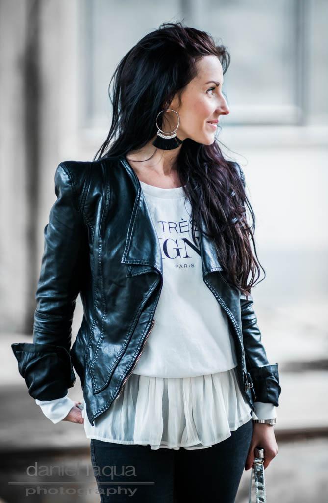 Dresscode of the day : easy black n white