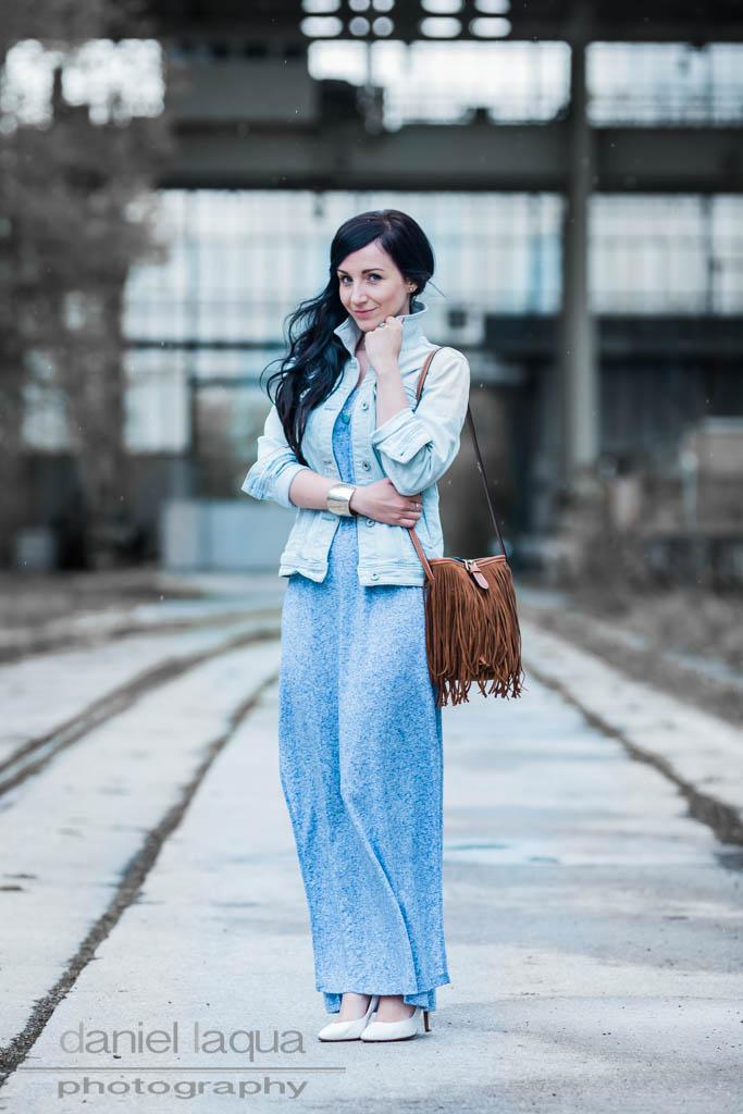 Dresscode of the day : Tagträume, Larimar und ein blaues Kleid