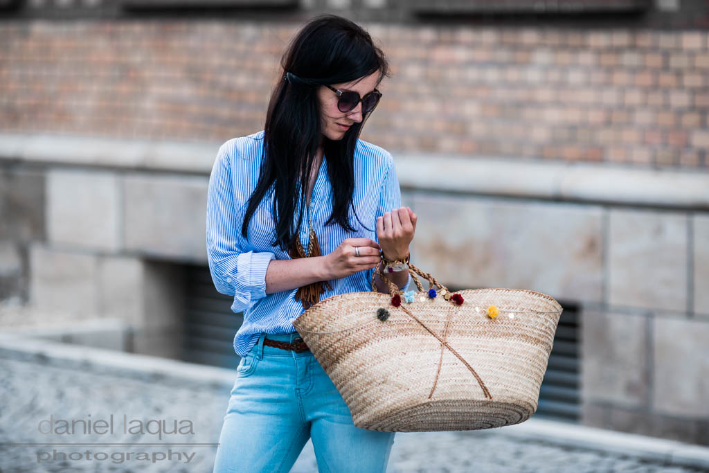 Mein Frühlingstrend : Blau und die perfekte Jeans