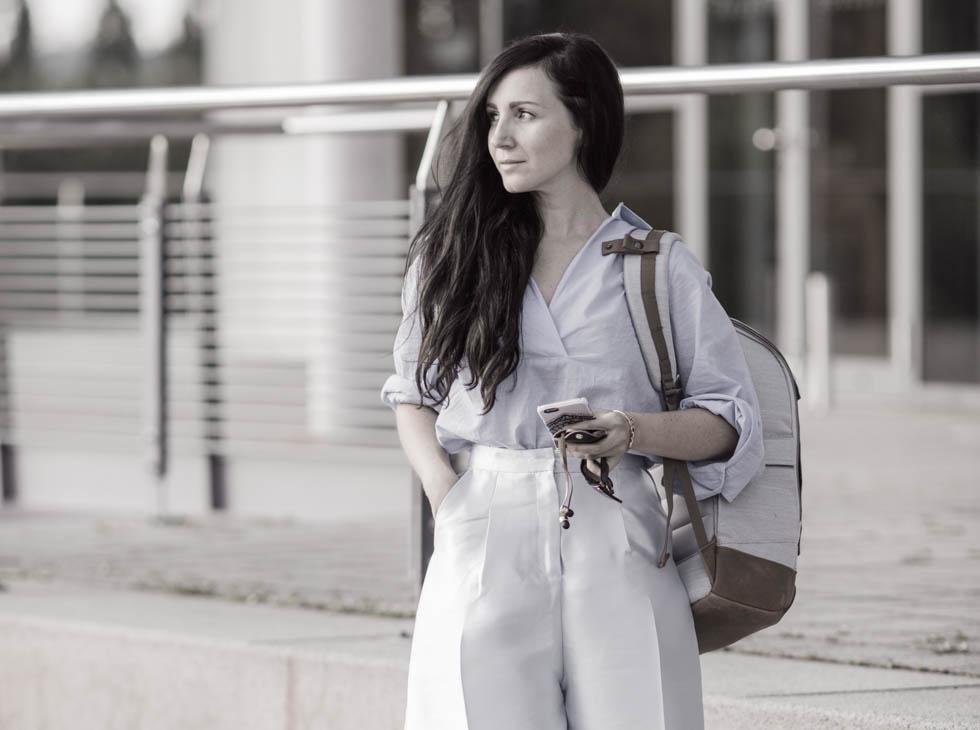 Ein Rucksack Mädchen : Alpha Classic von A E P Studio