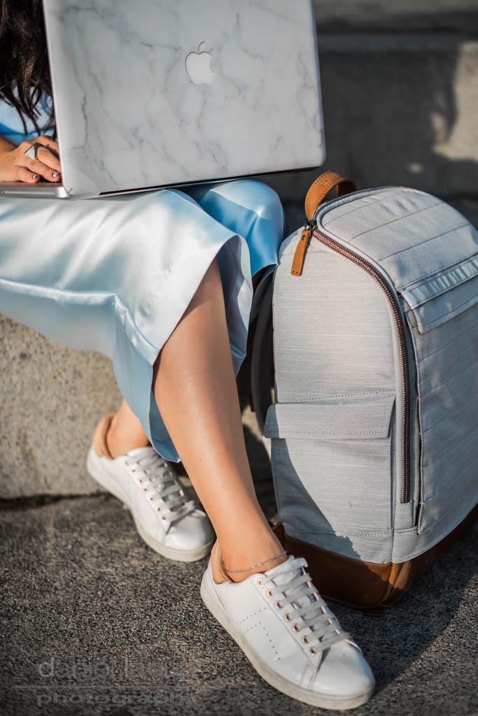 Ein Rucksack Mädchen : mein Neuer von A E P Studio