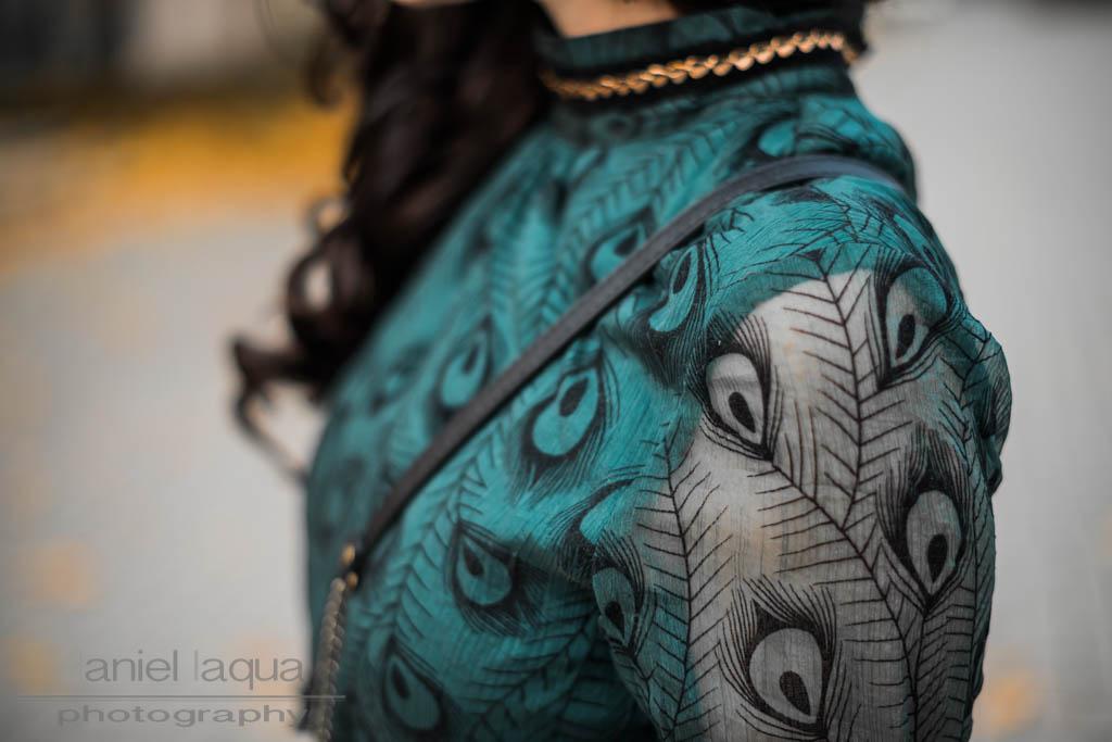 Emerald peacock : neues Kleid von Dezzal
