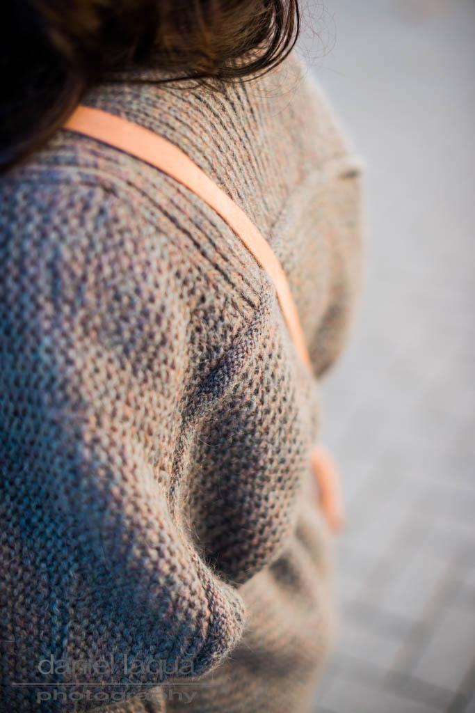 Grauer, warmer Herbst : Cardigan von Repeat
