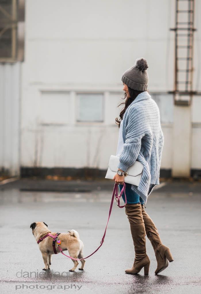 Knit & Overknees : Manchmal kommt das Leben dazwischen