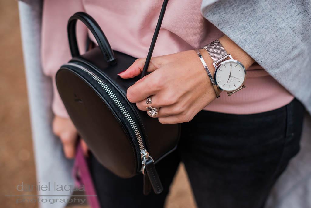 New in : runde Tasche von Dezzal und Rüschen von Topshop