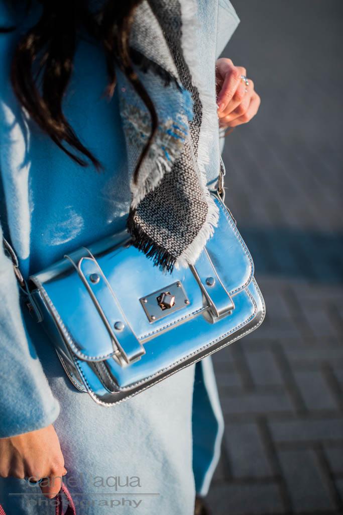 Baby blue X silver : Mantel von Dezzal Julies Dresscode