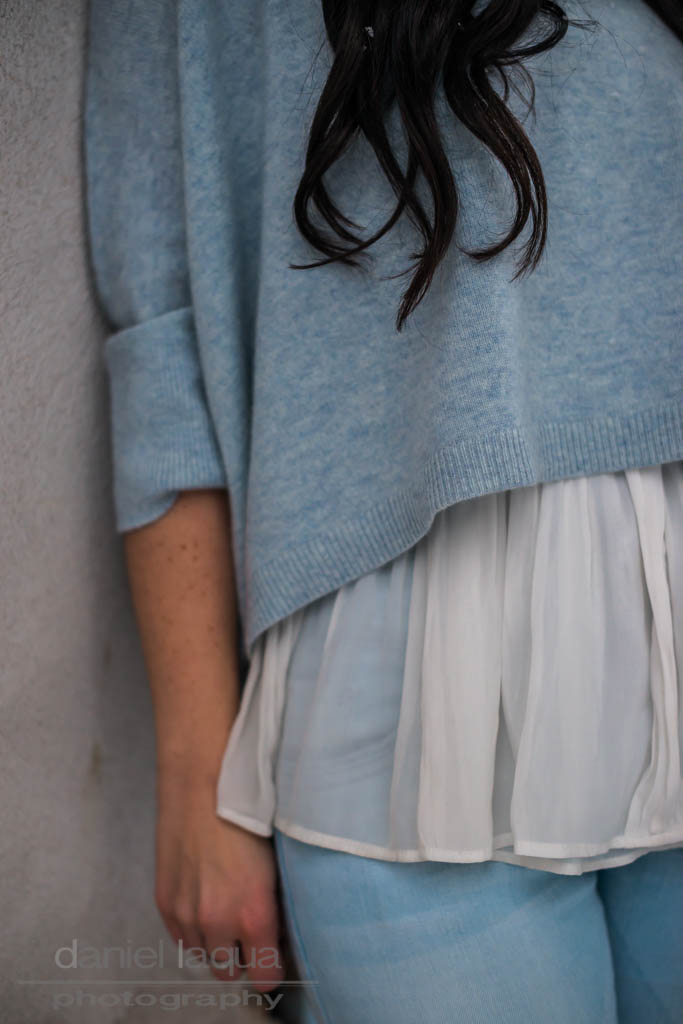 Light blue : cropped Pullover von Repeat Cashmere Julies Dresscode