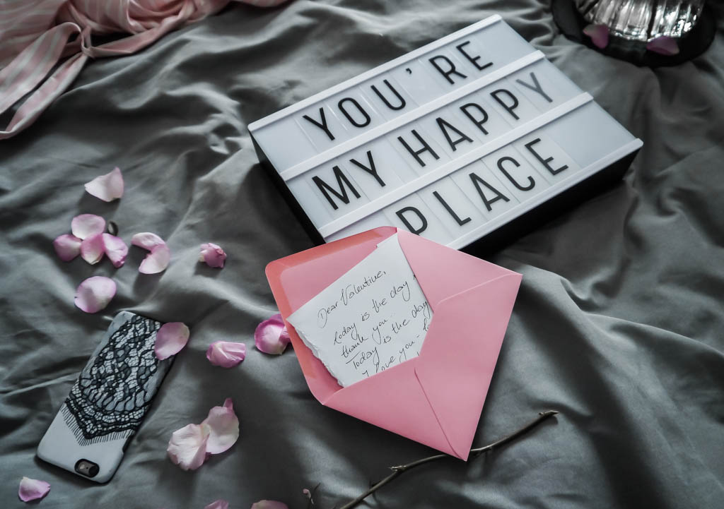 Dear Valentine : You are my happy place
