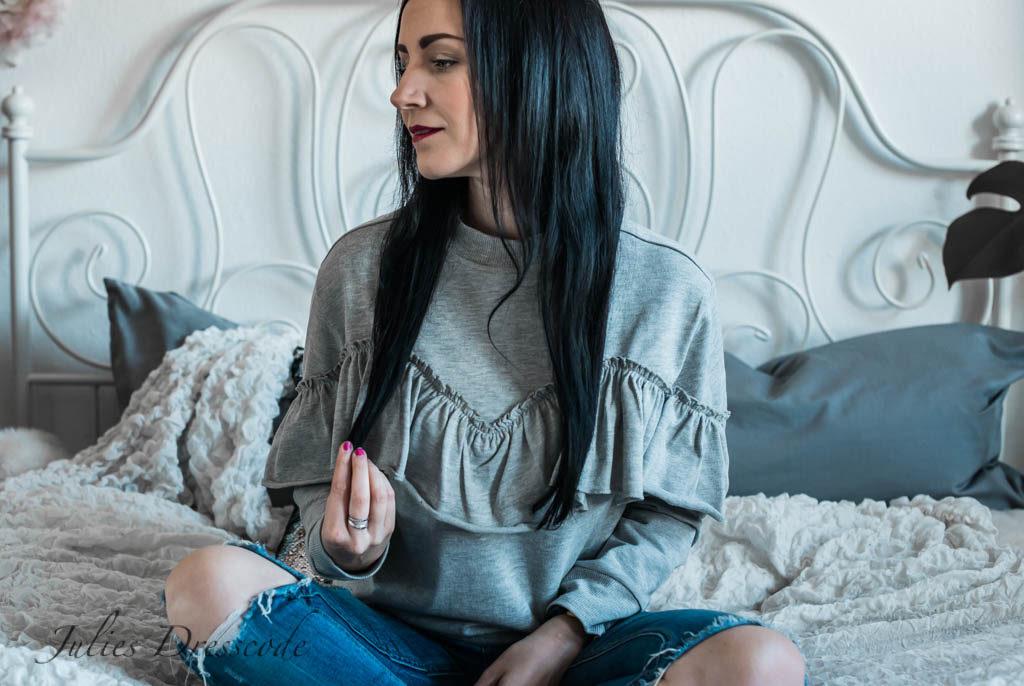 Testing Loca Hair : Erfahrungen mit Clip-In-Extensions Julies Dresscode