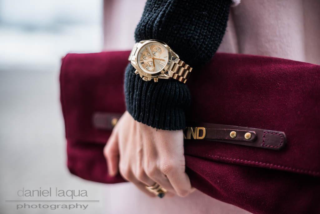 Uhr über dem Ärmel : und warum man manche Trends probieren muss Julies Dresscode