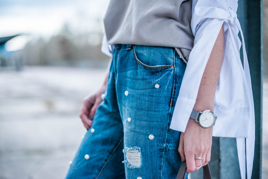 Must Have des Frühlings Perlenjeans DIY Julies Dresscode