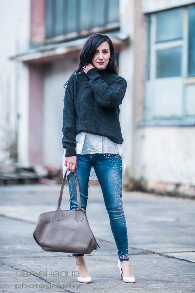 Jeans mit Perlen <br> <em> Volume 2 </em> Julies Dresscode