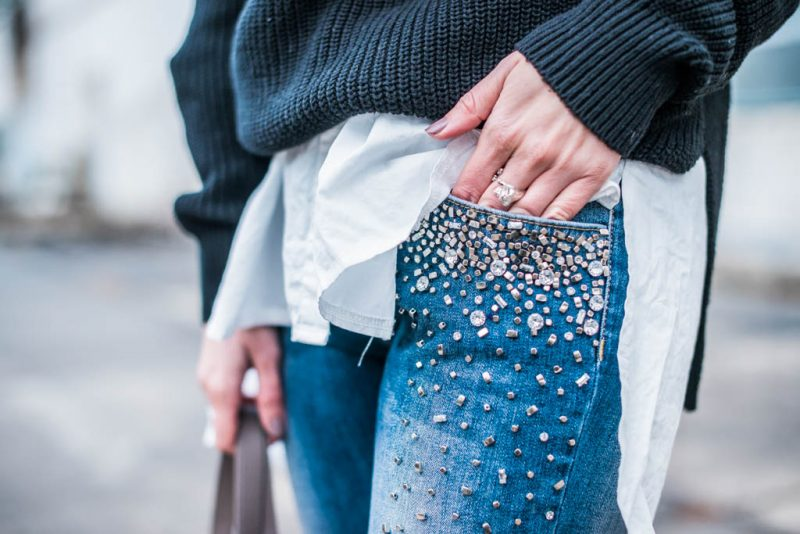 jeans mit perlen volume 2 julies dresscode. Black Bedroom Furniture Sets. Home Design Ideas