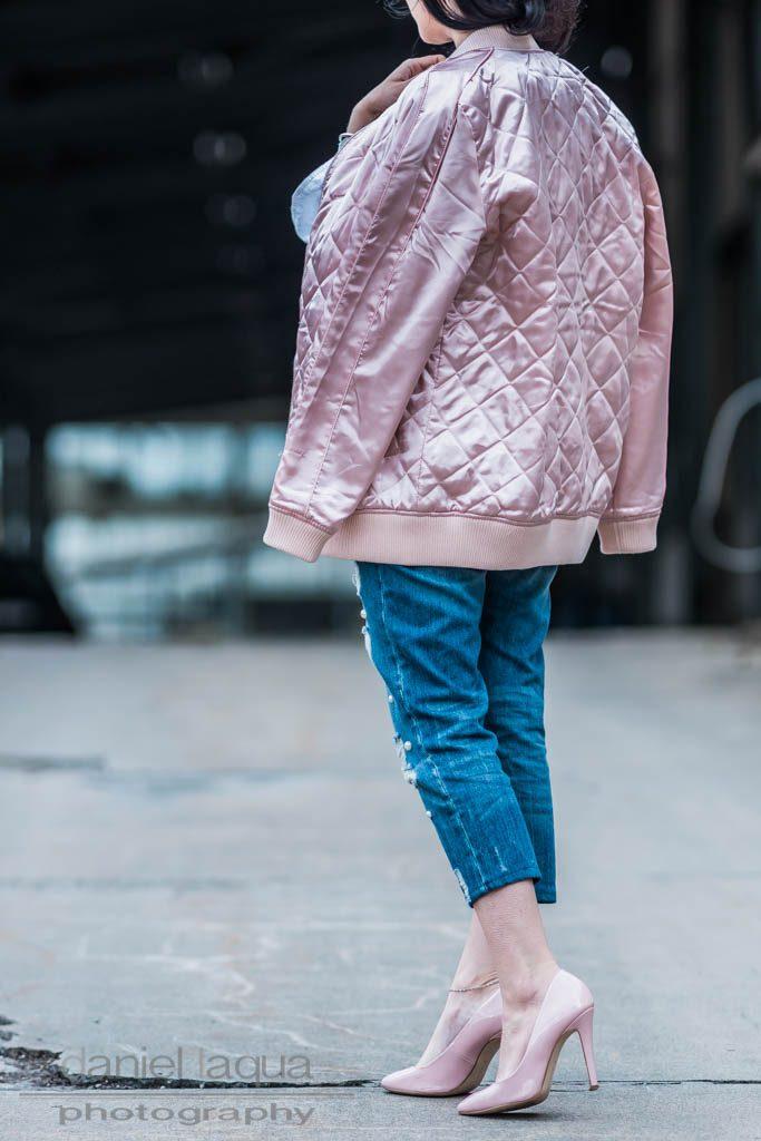 Spring Layers Samt & Denim Julies Dresscode