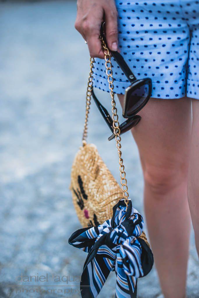 City Trip Look Shorts & Mules Julies Dresscode Fashion Blog