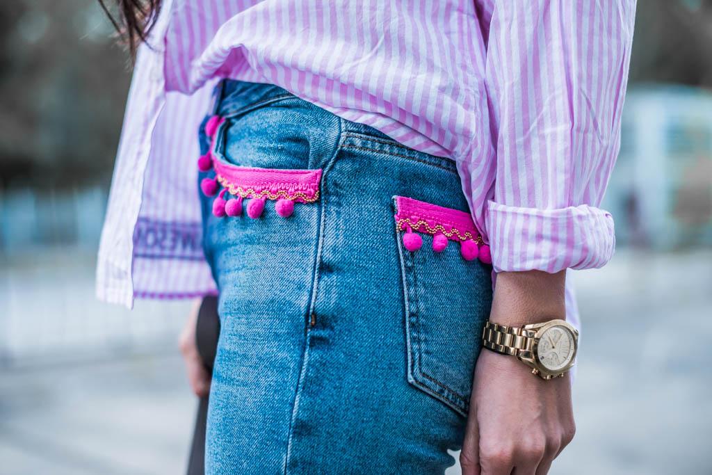 Er&Sie Jeans mit Bommeln Julies Dresscode