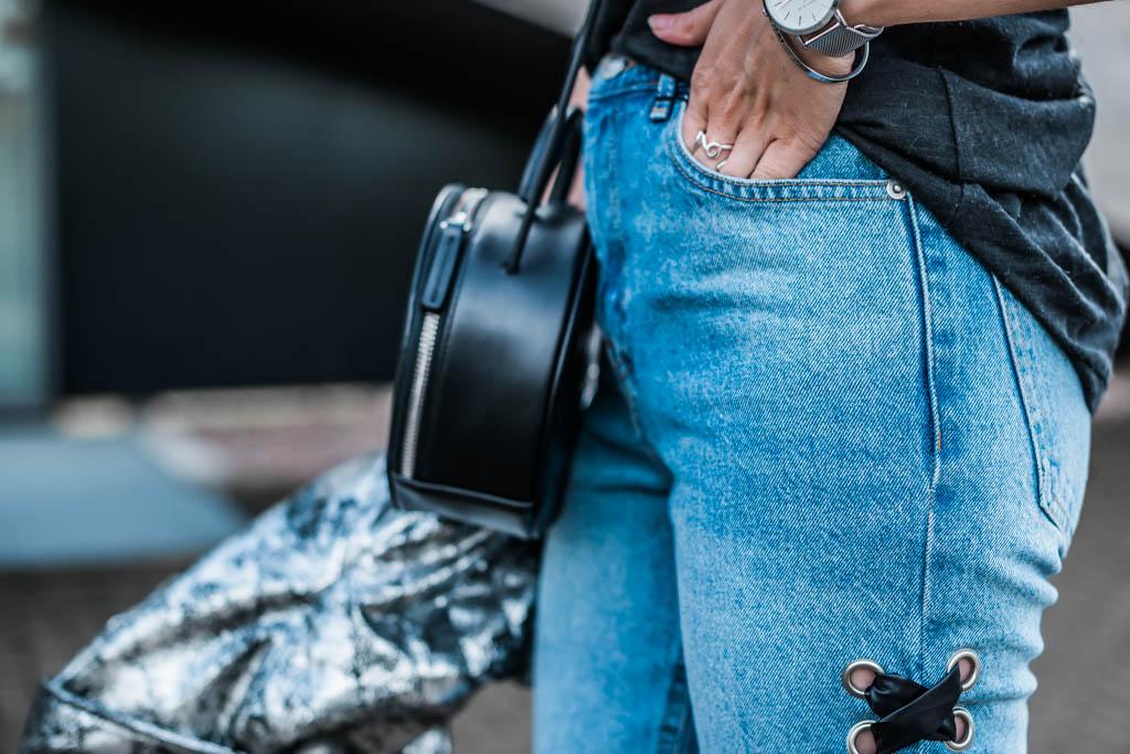 Statement Jeans das neue Trend Teil Julies Dresscode Fashion Blog