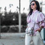 Trend watch Volant Bluse stylen Julies Dresscode Fashion Blog