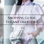 Shopping Guide Volants Oberteile Julies Dresscode