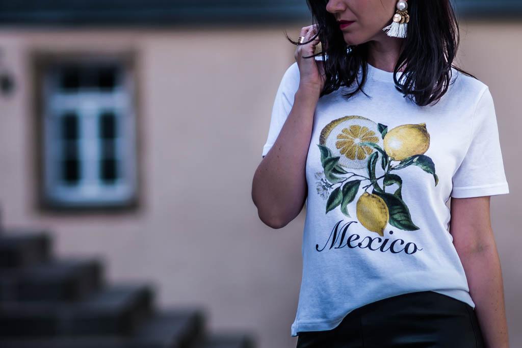 Sommertrend Zitronen Print - Julies Dresscode