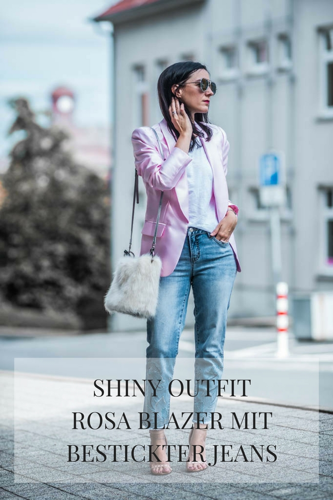 Shiny Outfit Julies Dresscode Fashion Blog