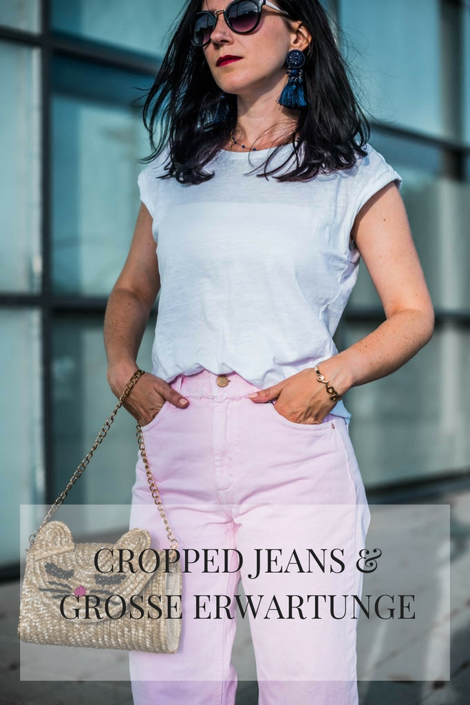 Cropped Jeans Julies Dresscode Fashion Blog