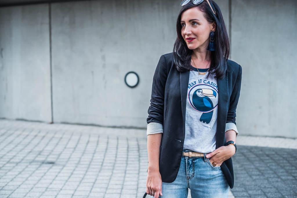 Keep it casual & Printshirts Julies Dresscode Fashion Blog