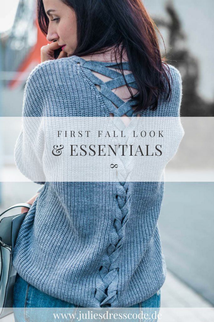Erster Herbstlook & Fall Essentials Julies Dresscode Fashion Blog