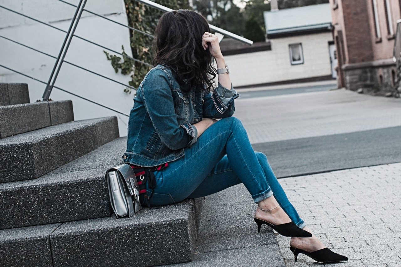 Herbst Trend Denim-All-Over