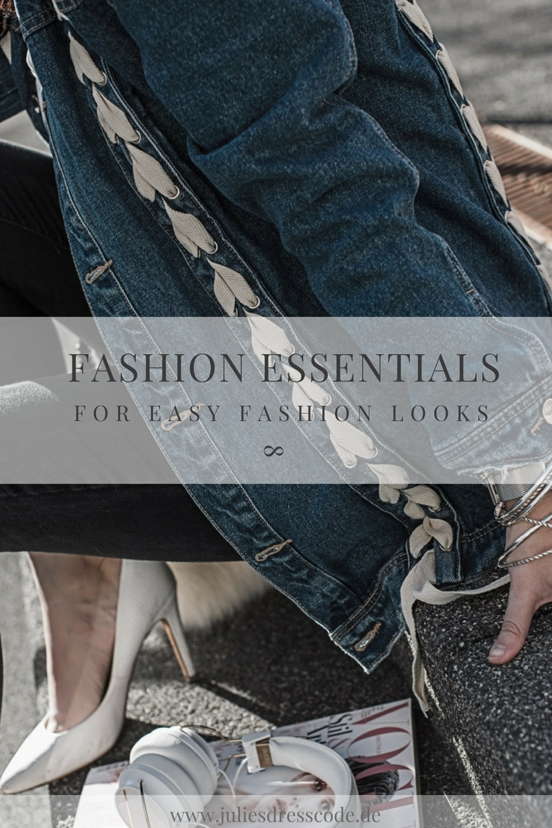 Meine Fashion Essentials für einfache Fashion Looks Julies Dresscode Fashion Blog