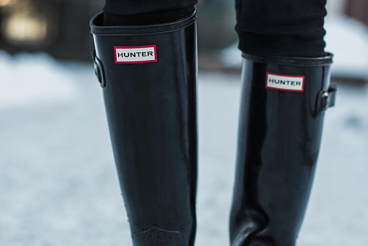 Hunter Boots : die richtige Pflege für Gummistiefel Julies Dresscode Fashion Blog