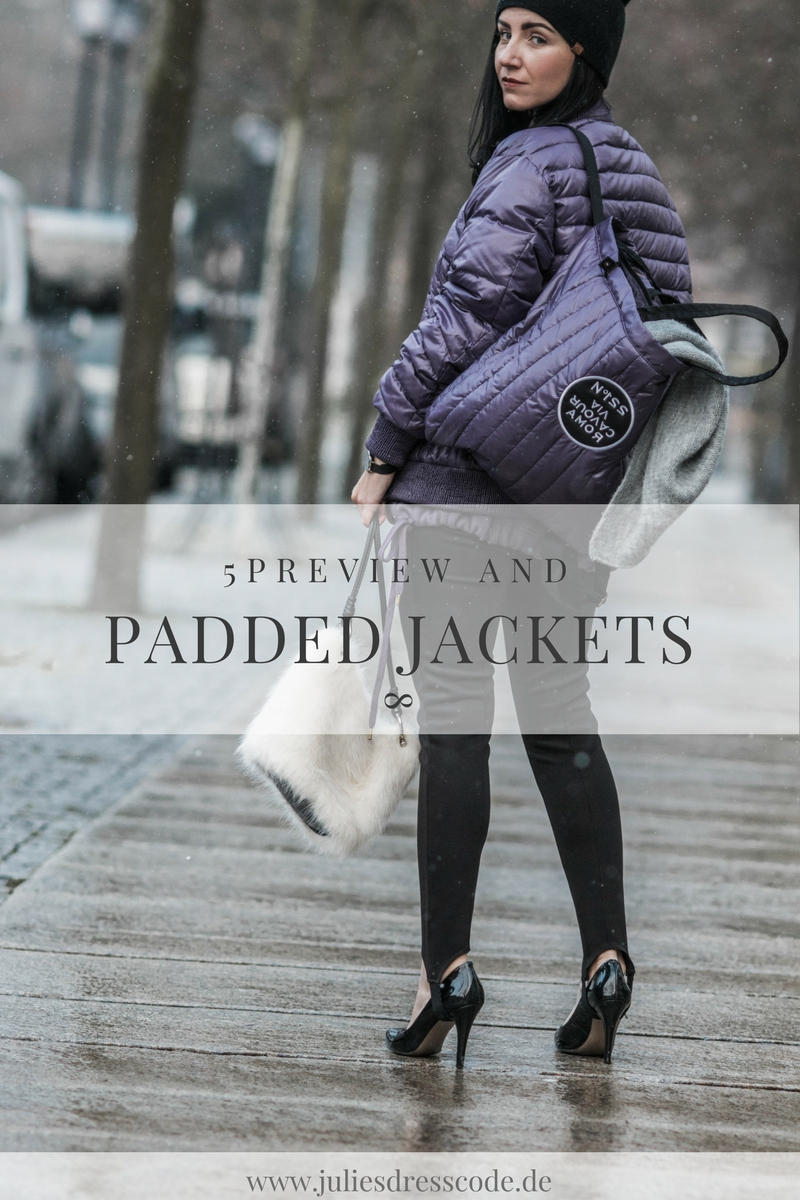 Label to watch - 5PREVIEW & das Comeback der Steppjacke Julies Dresscode Fashion Blog