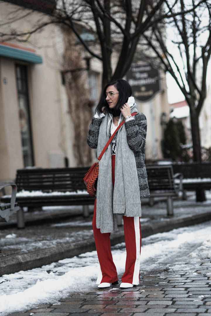 Wie du Trackpants im Winter kombinierst Julies Dresscode Fashion Blog