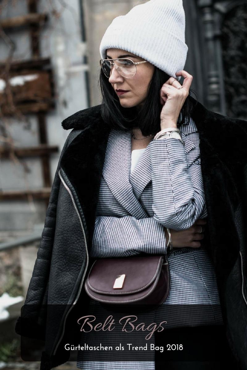 Warum die Gürteltasche schon jetzt die Trendtasche 2018 ist Julies Dresscode Fashion Blog