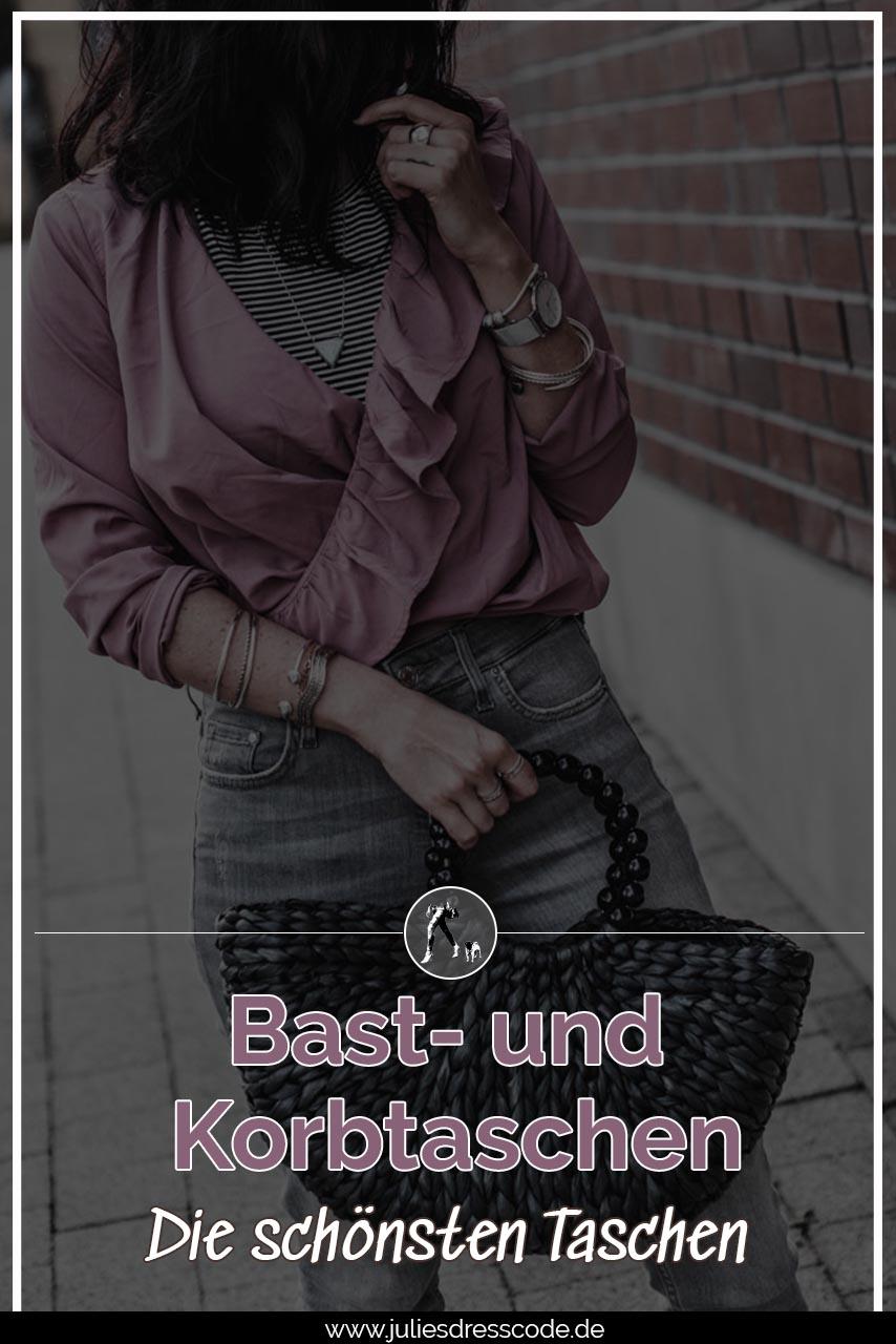 Bast- und Korbtaschen