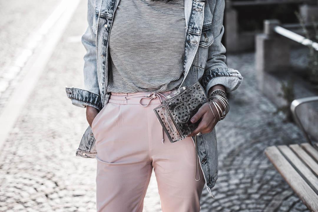 Transparente Taschen <br> wie alltagstauglich ist der Trend?