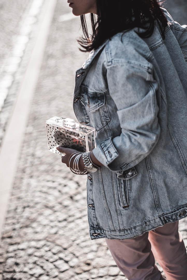 Transparente Taschen wie alltagstauglich ist der Trend? Julies Dresscode Fashion Blog